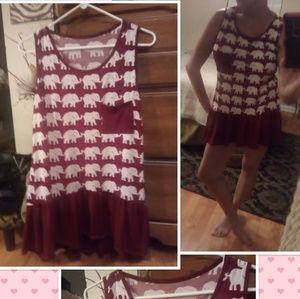 CUTE SHIRT/DRESS,ALABAMA